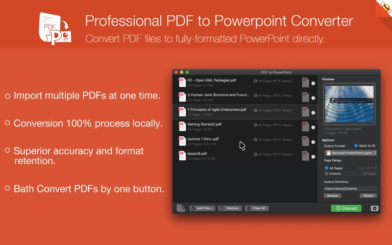 PDF to PowerPoint Pro Edition