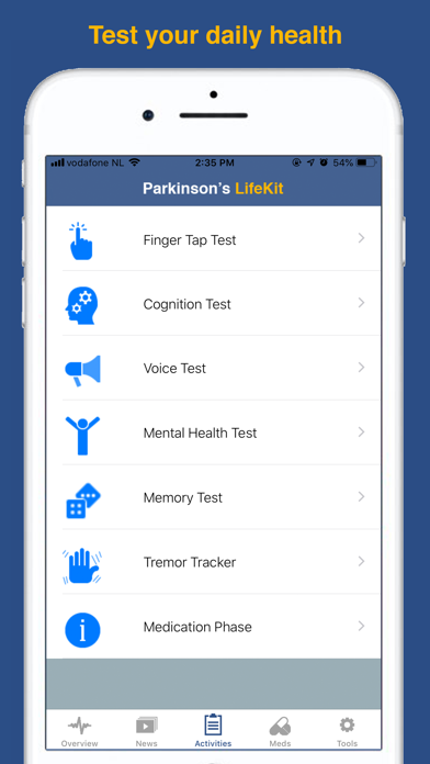 Parkinson's LifeKit