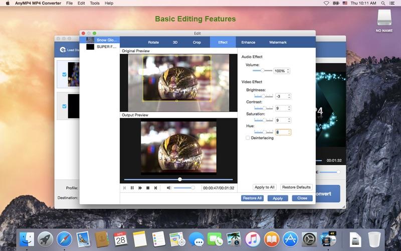 AnyMP4 MP4视频格式转换器