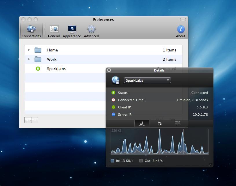 Viscosity 1.8.6最好用的 Openvpn 客户端