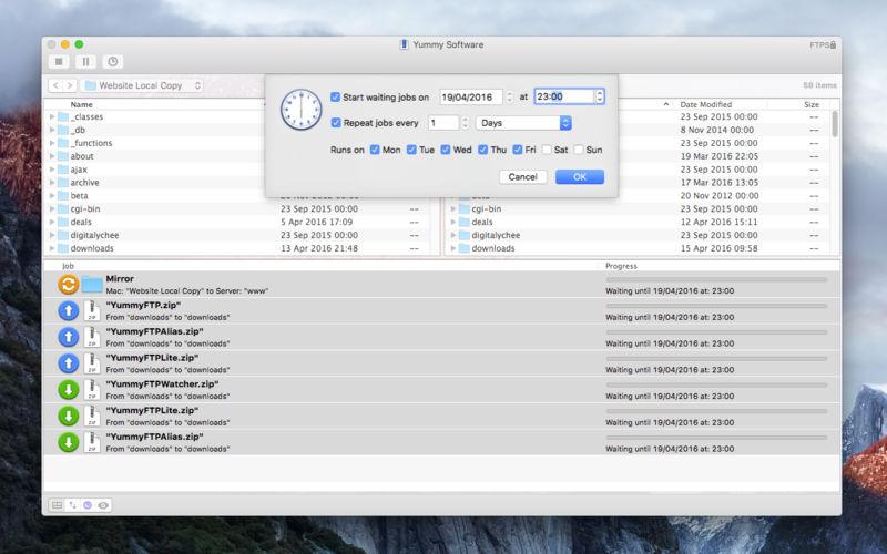 Yummy FTP 2.0.5文件传输客户端