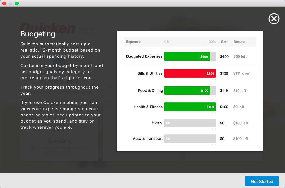 Quicken 2017 4.7.2个人理财管理软件