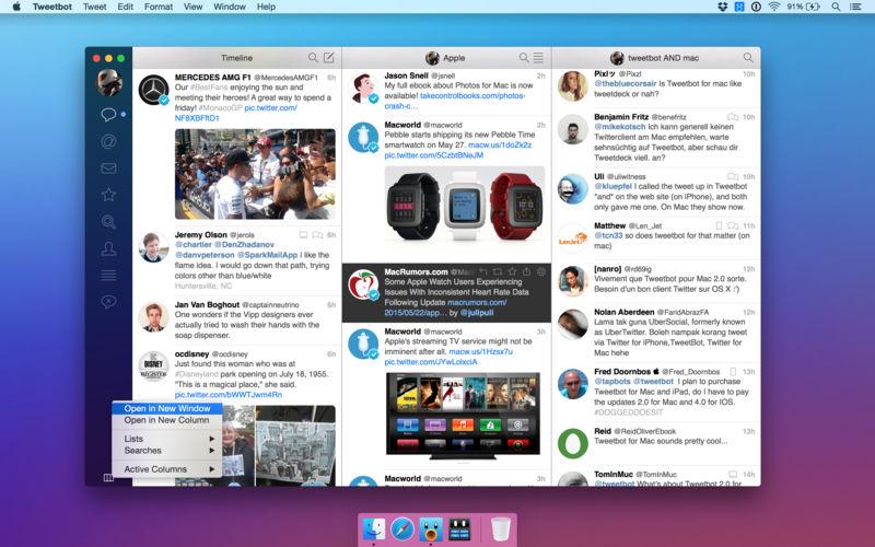 Tweetbot 3.0优秀的Twitter客户端