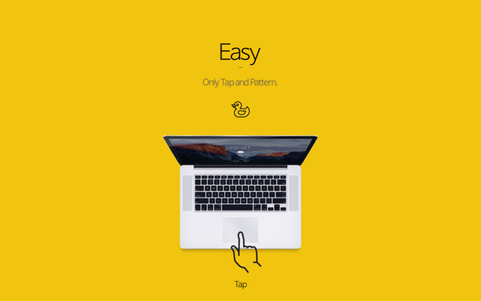 Tap 1.5.11让Mac支持手势解锁