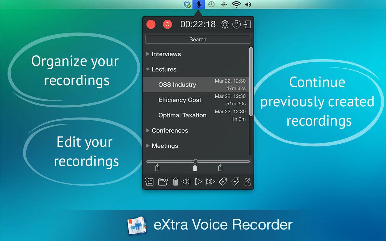 eXtra Voice Recorder 3.2.1录音工具