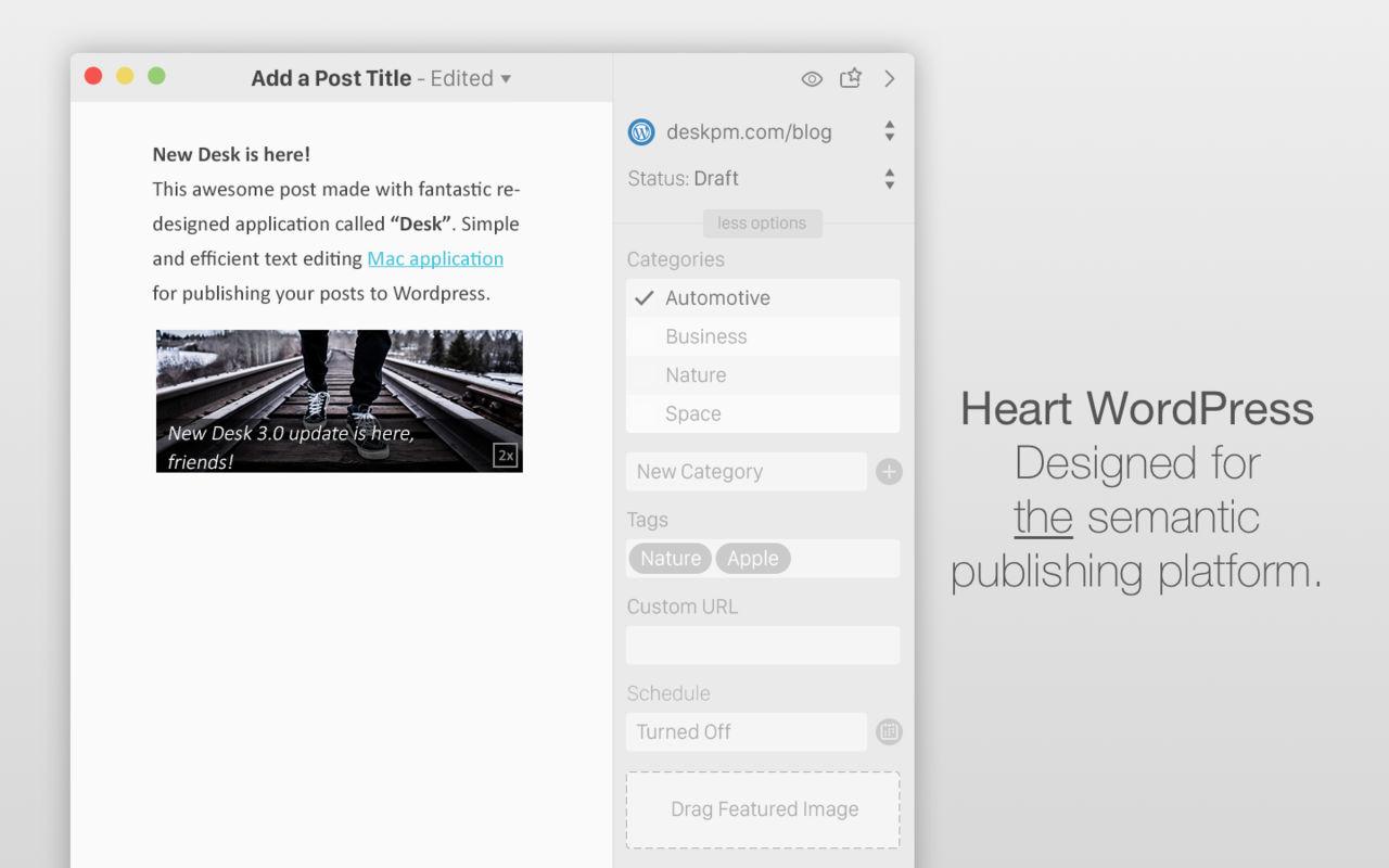 Desk PM 3.1博客管理写作工具
