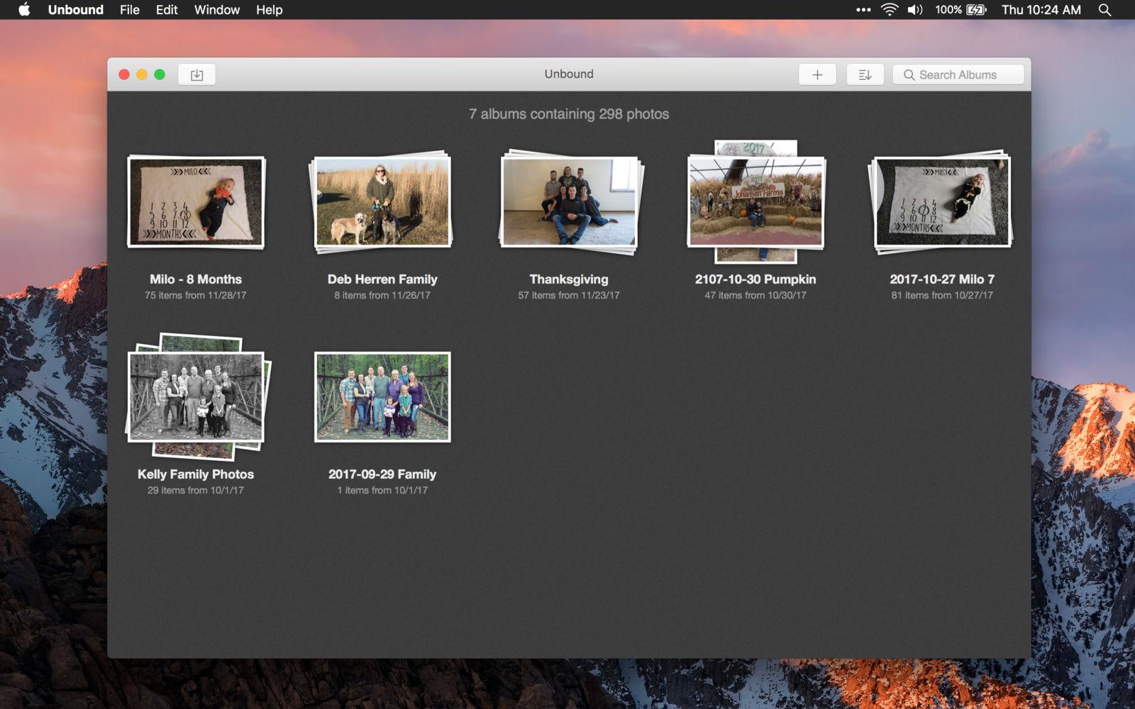 Unbound 1.3简单快速的照片管理器
