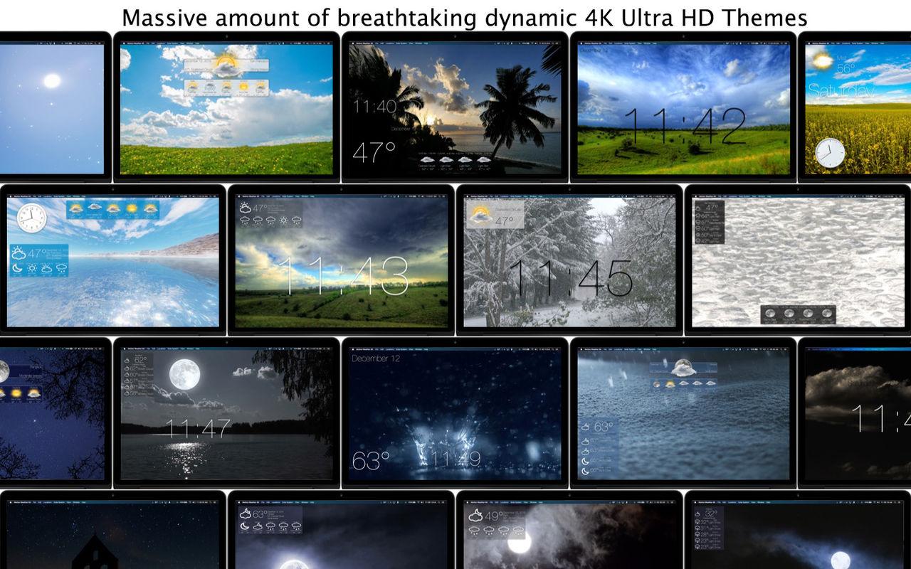 Motion Weather 4K 1.1.2最先进的天气应用程序