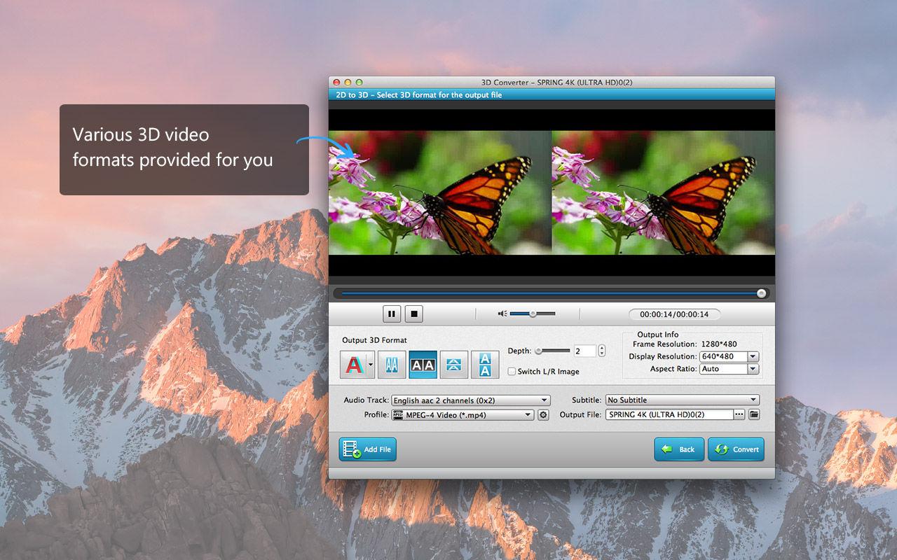 3D Converter 6.5.11专业3D视频转换软件
