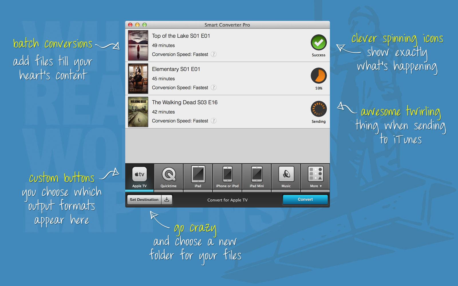 Smart Converter Pro 3.0.1多媒体文件转换工具