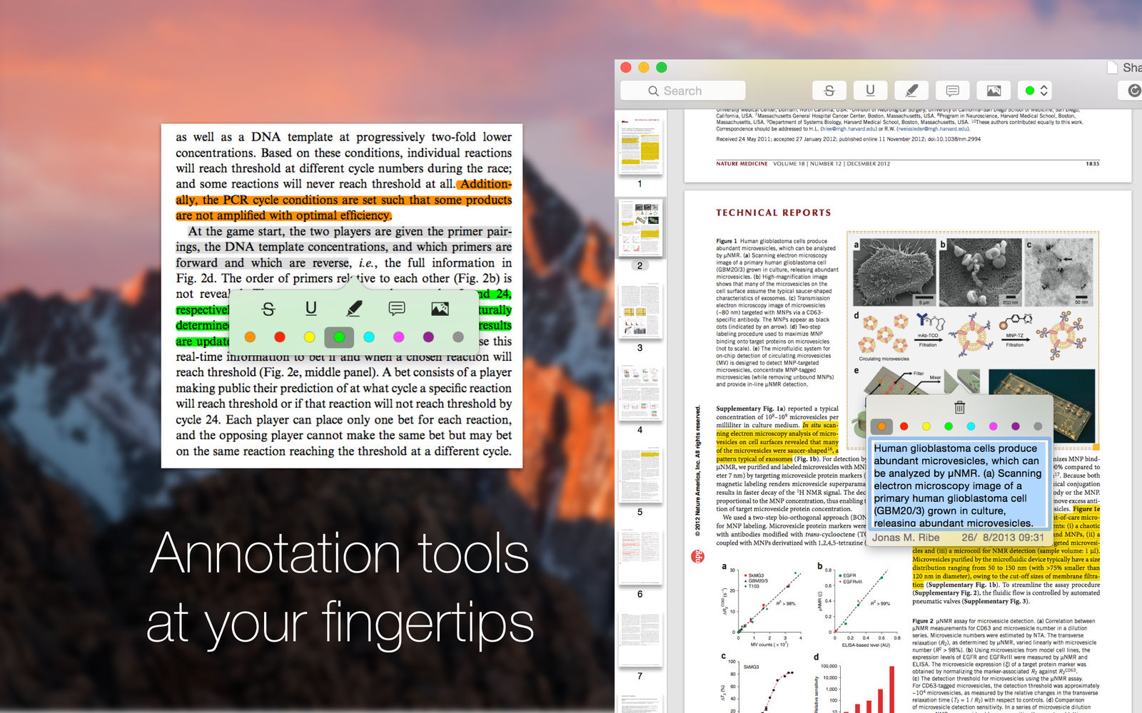 Highlights 1.5.1可提取注释的PDF阅读器