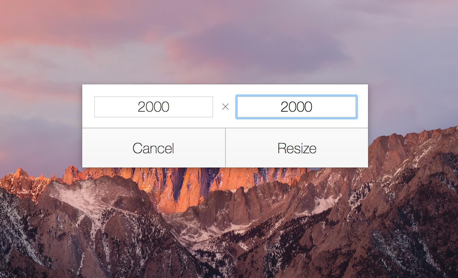 Instant Resize 1.2.4一键调整图片尺寸