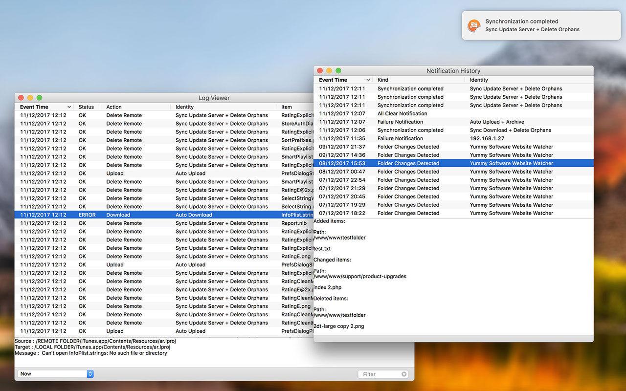 Yummy FTP Watcher 3.0.9FTP文件传输监视器