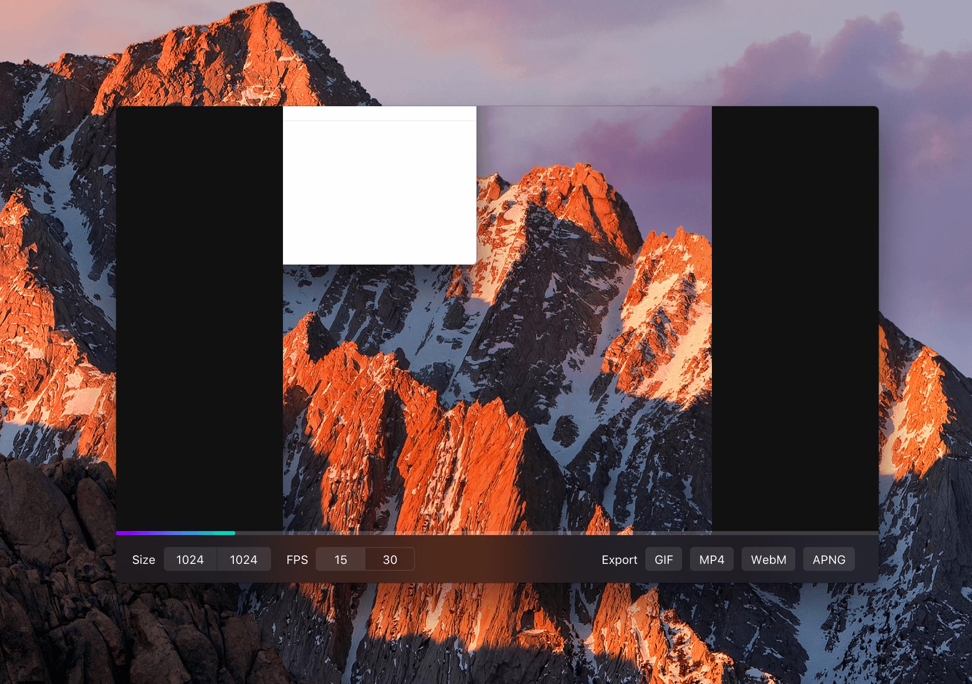 Kap 2.1.2GIF屏幕录像软件