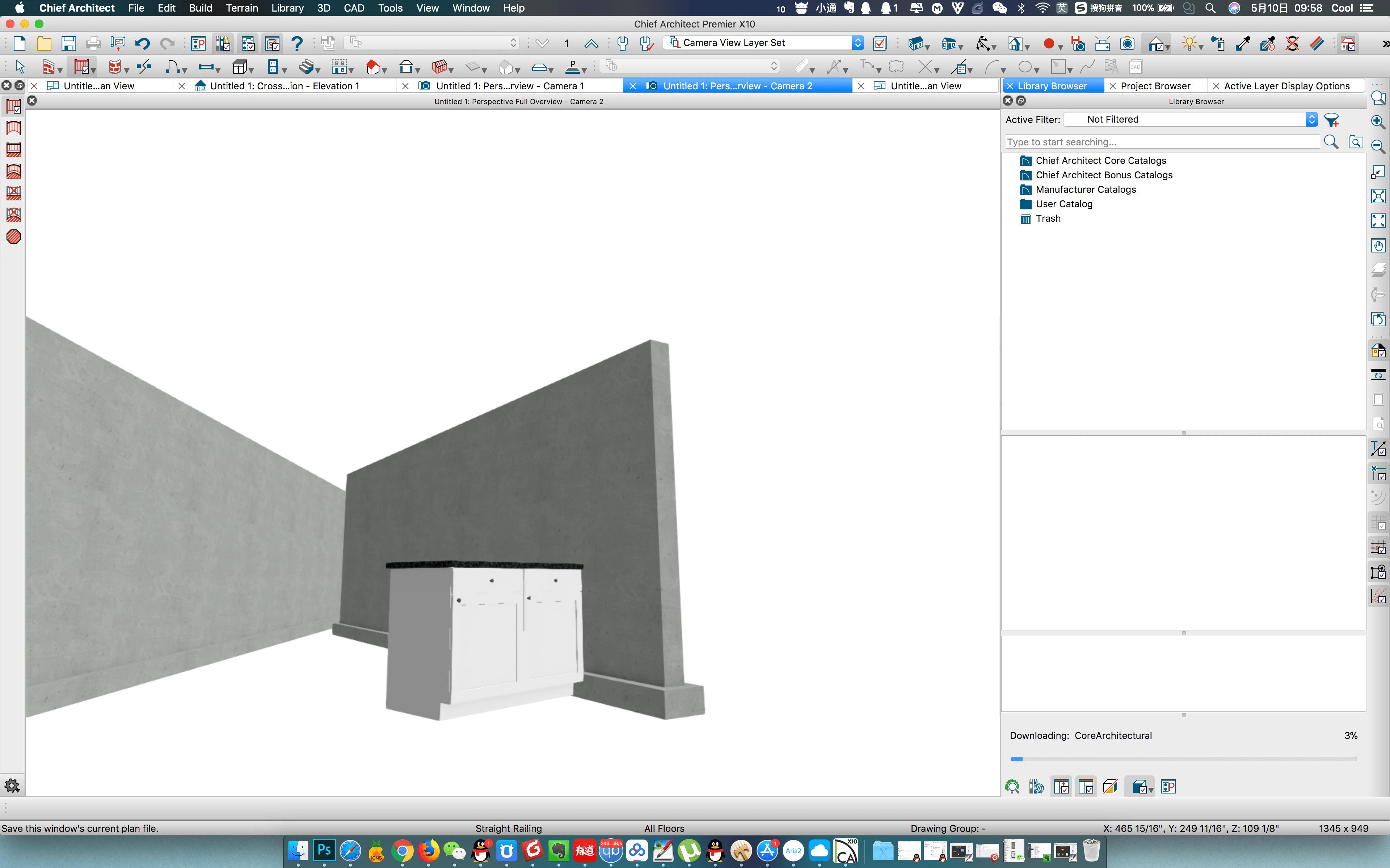Chief Architect Premier X10 20.2.3.33D的家具建筑规划软件
