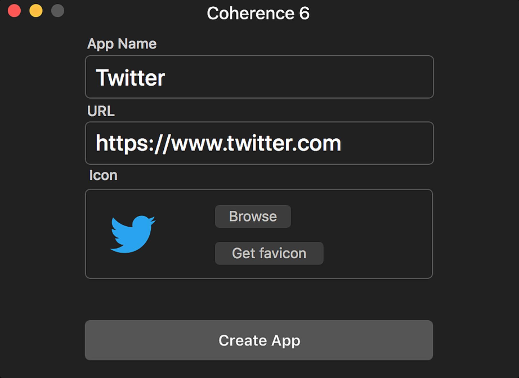 Coherence 6.1将网站变成应用程序