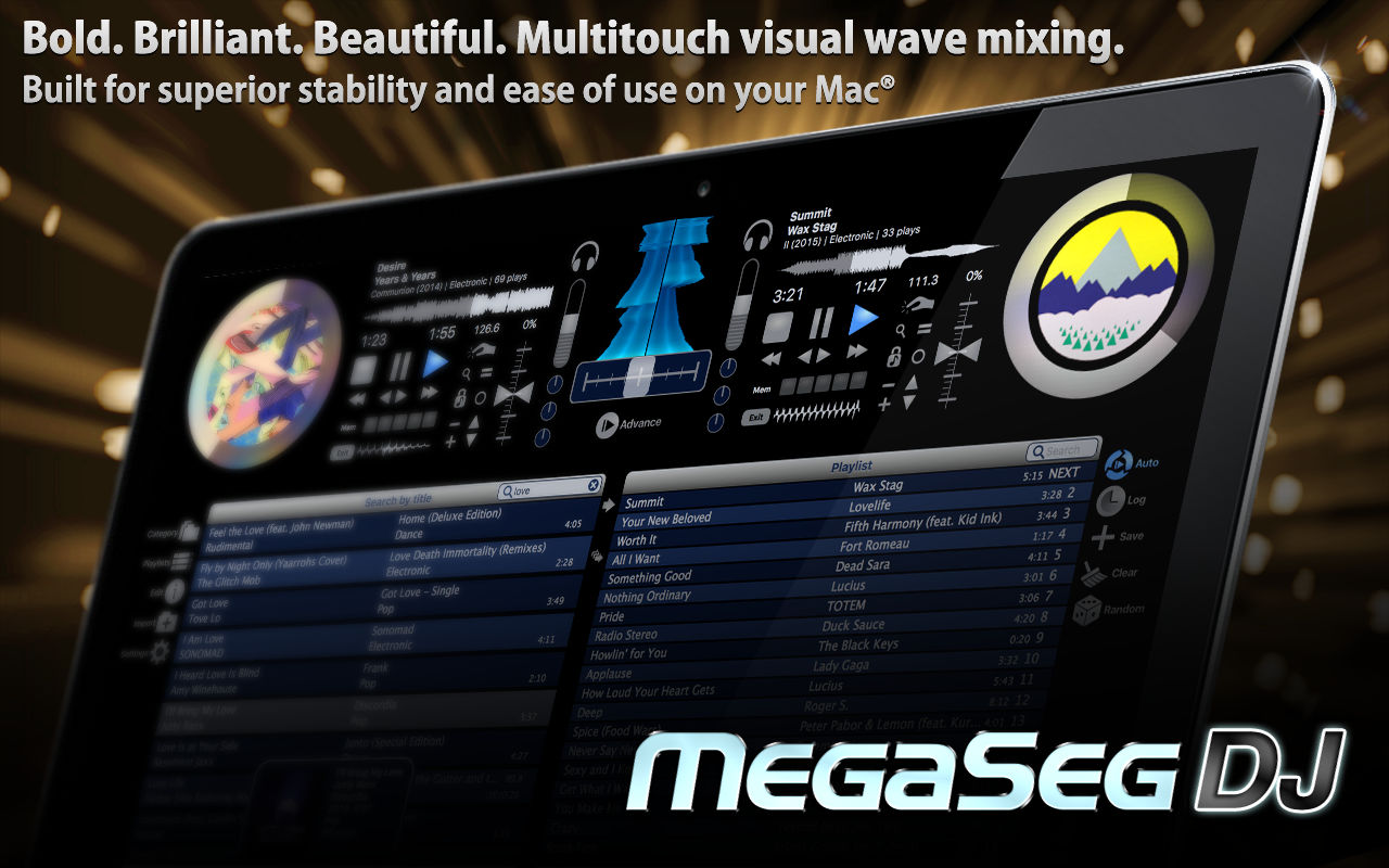MegaSeg Pro 6.0.6音乐混音应用
