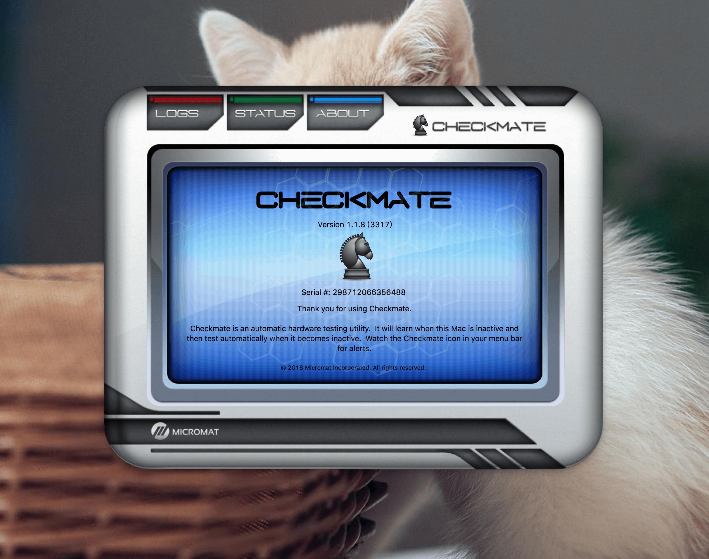 Checkmate 1.1.8(3317)电脑健康监测软件
