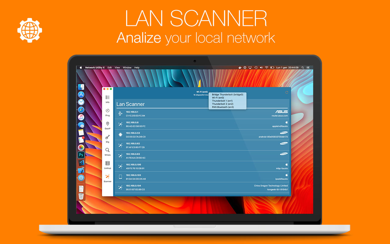 Network Utility X 7.1网络检测工具