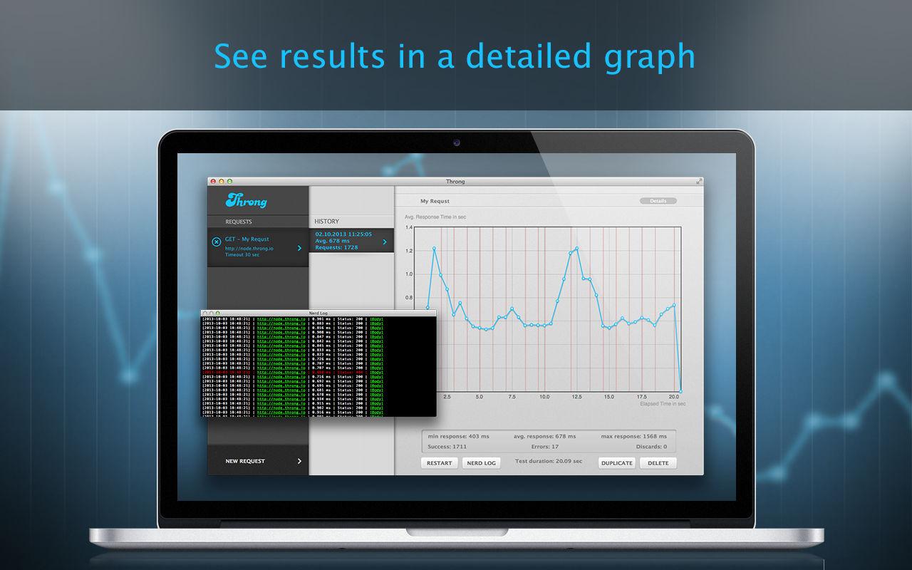 Throng 1.11Web服务器压力测试工具