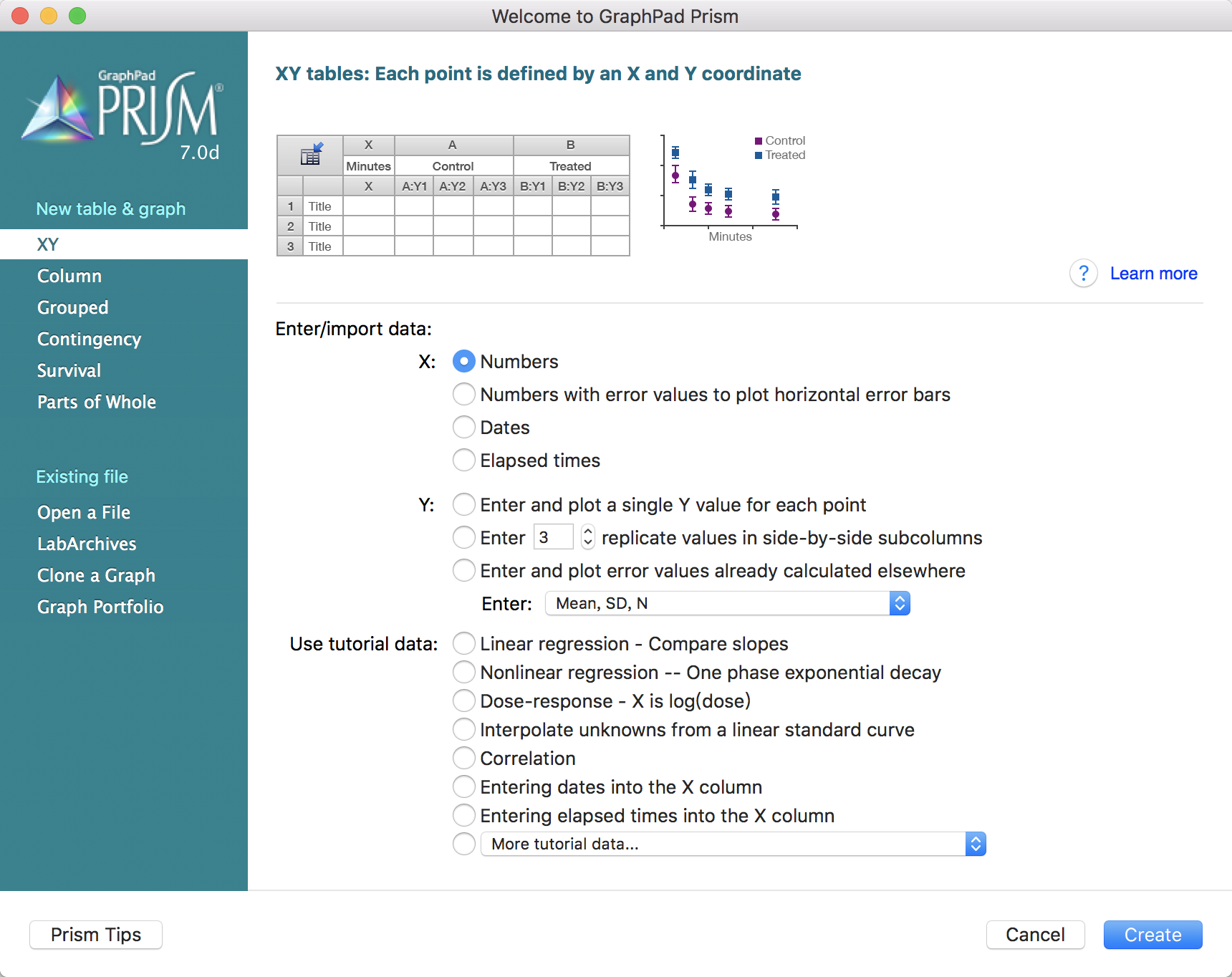 GraphPad Prism 9.0.1科学图形和非线性回归曲线工具