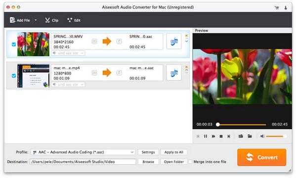 Aiseesoft Audio Converter for Mac...音频转换软件