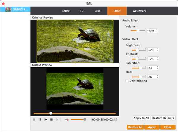 Aiseesoft MP4 Converter for Mac 9...MP4视频转换软件