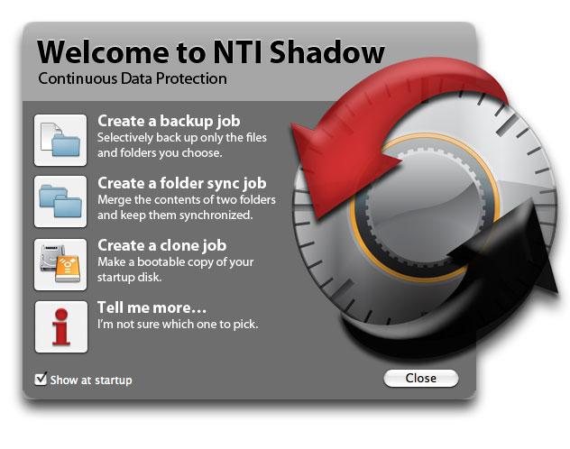 NTI Shadow 5.0.0.55数据文件备份工具