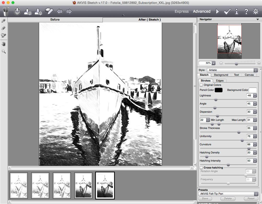 AKVIS Sketch 20.5.3201.16780将图像转换为铅笔素描和水彩画