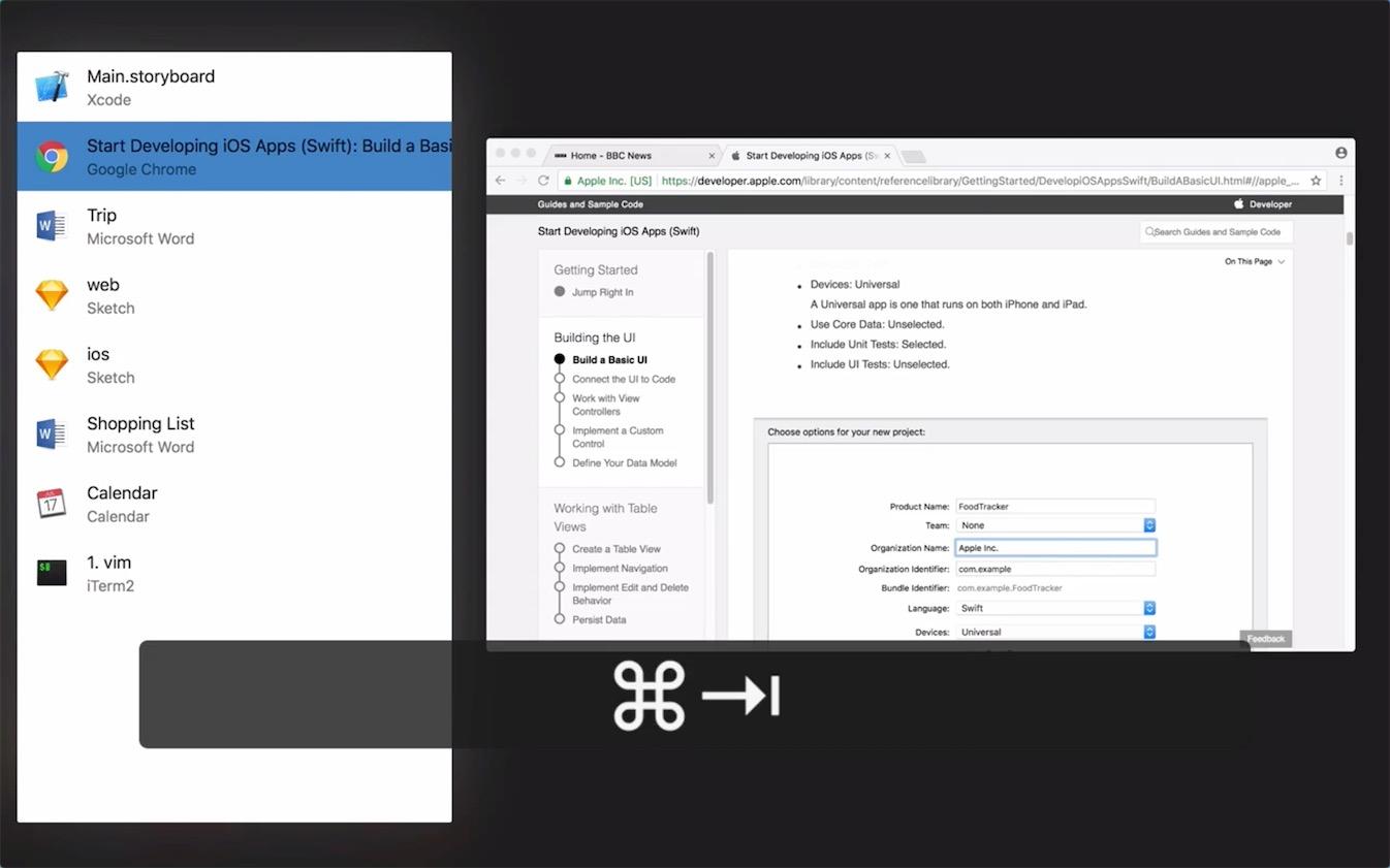 Swivik 0.2.13窗口快速切换应用