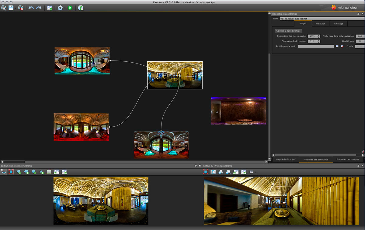 Panotour 2.5.12创建高质量的虚拟旅行