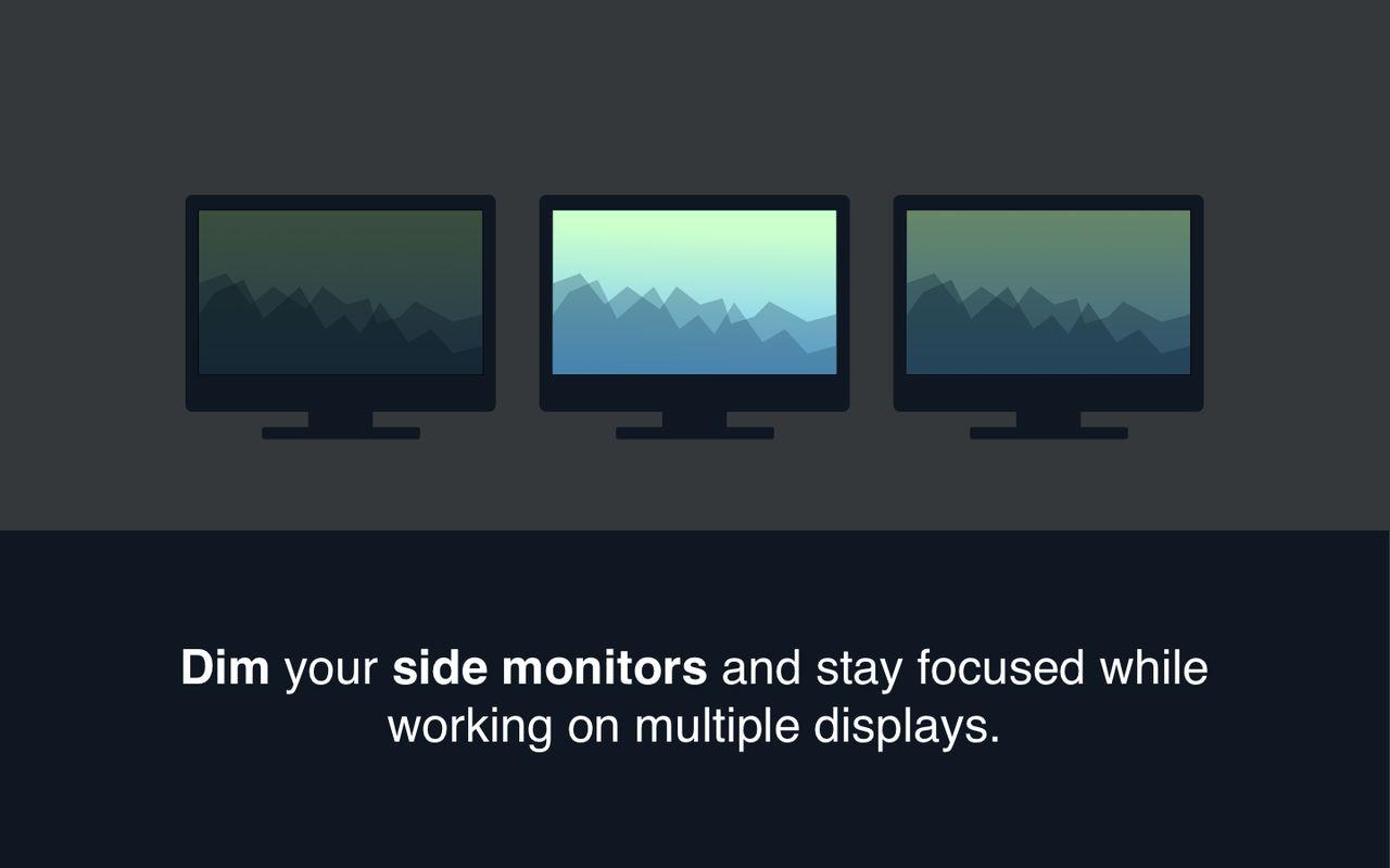 ScreenFocus 1.0多显示器下保持专注的工具
