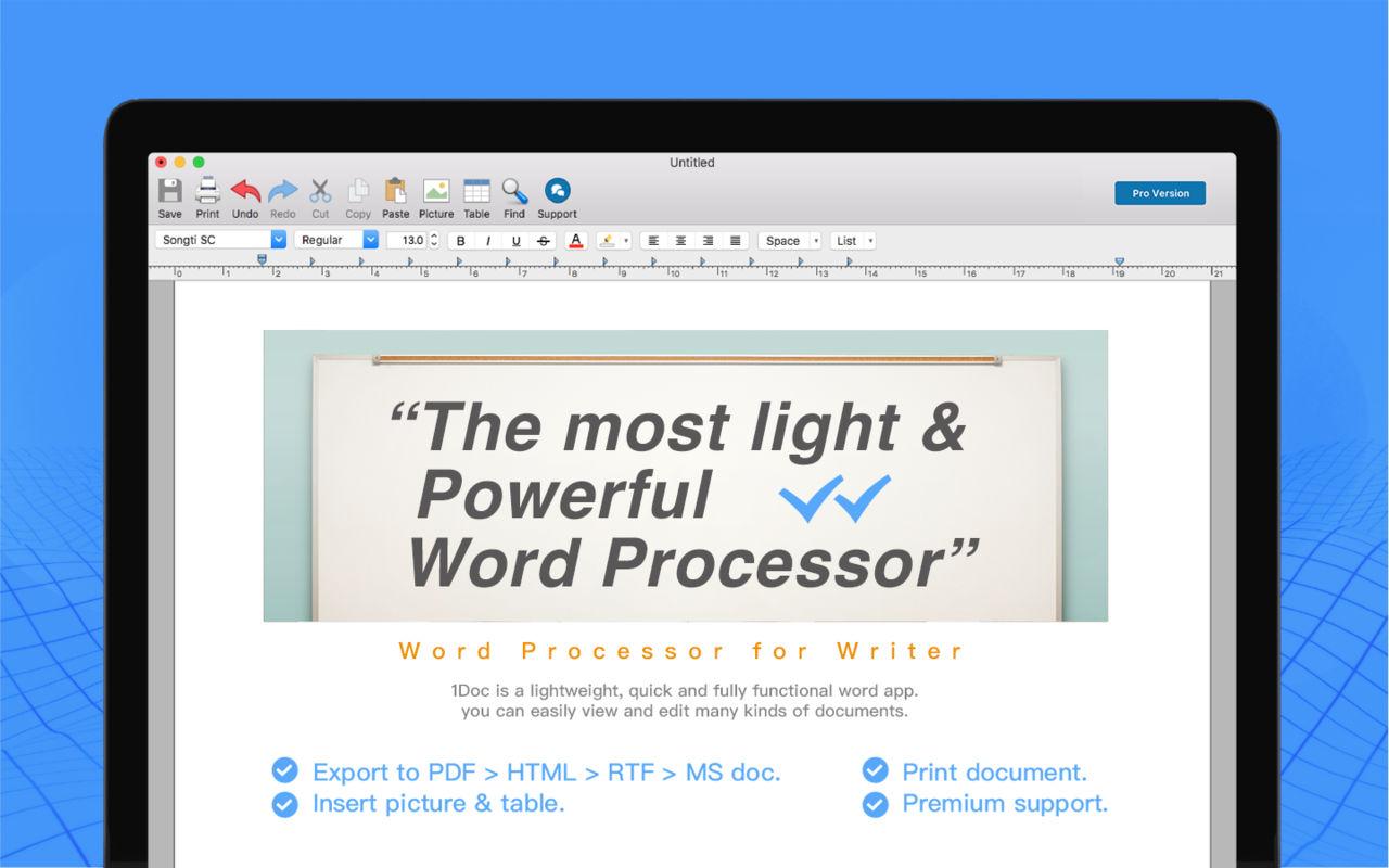 1Doc 1.1.2简洁的文字处理器