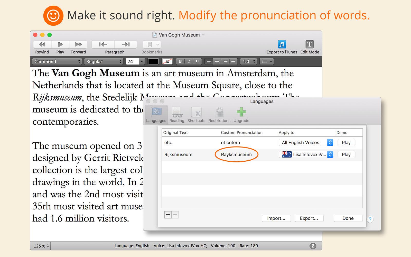 GhostReader 2.3文本转语音的工具