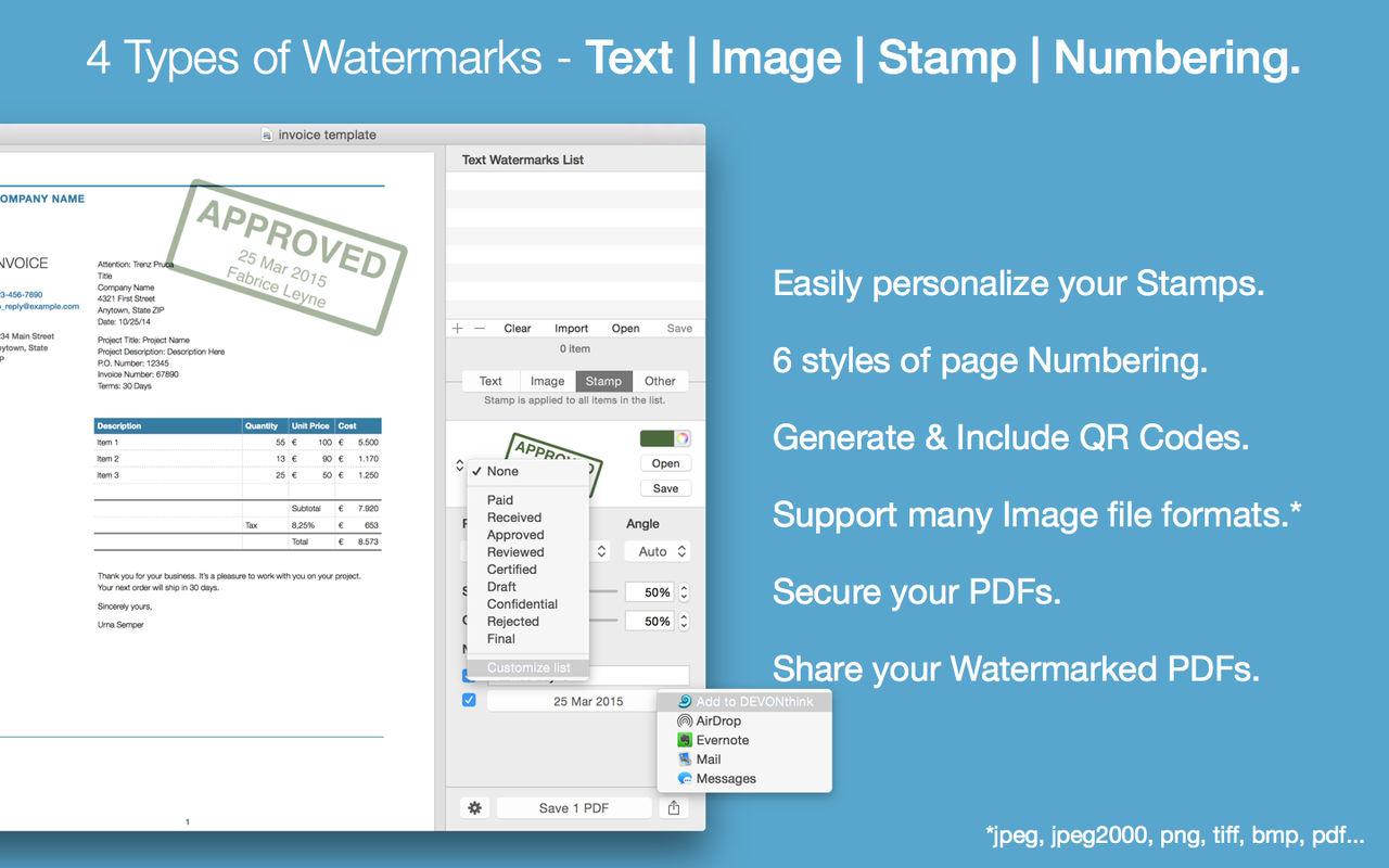 PDF Watermarker 3.9为PDF添加水印