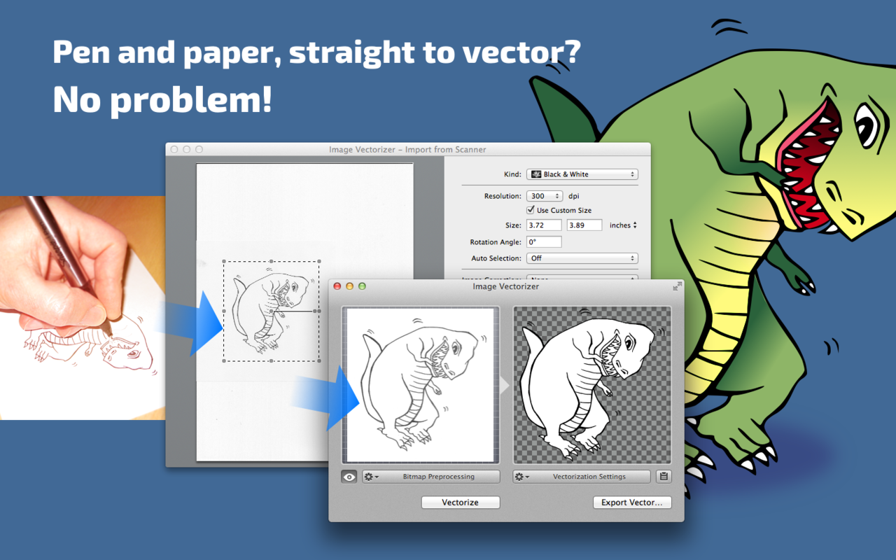 Image Vectorizer 1.6矢量图转换工具