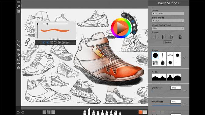 Sketchable(创意绘图软件)--最适配Surface dial的软件