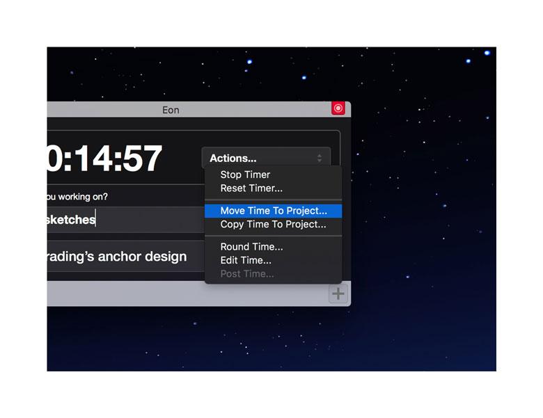 eon定时器-追踪项目花费时间