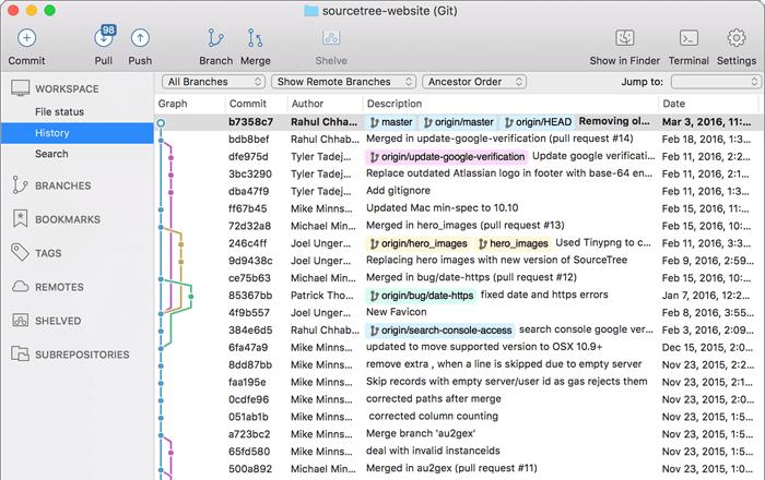 Sourcetree---Windows和Mac的免费Git客户端