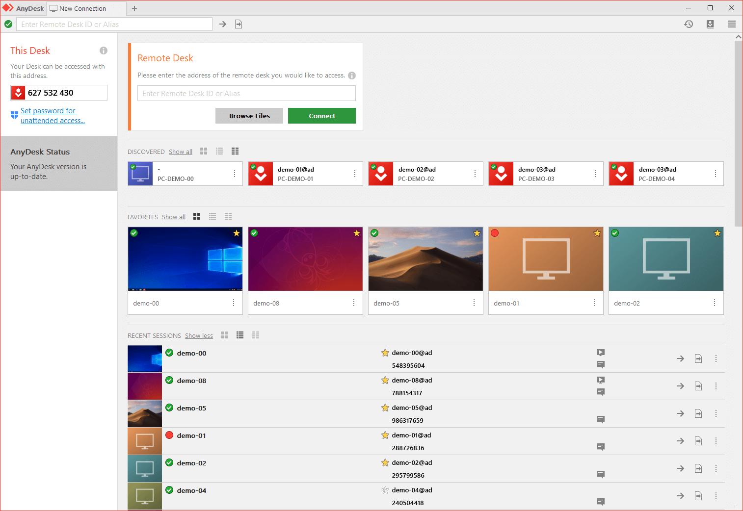 AnyDesk---远程桌面连接软件