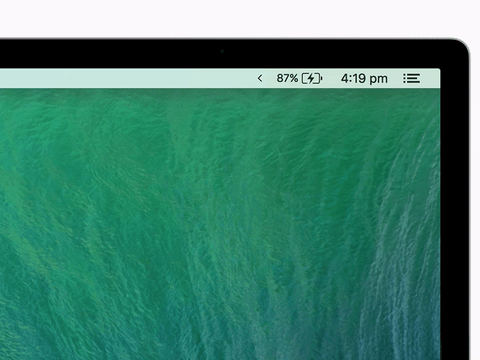 Vanilla 隐藏Mac上的菜单栏图标