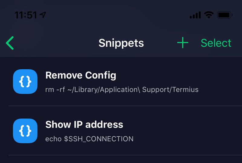 Termius 跨平台SSH软件
