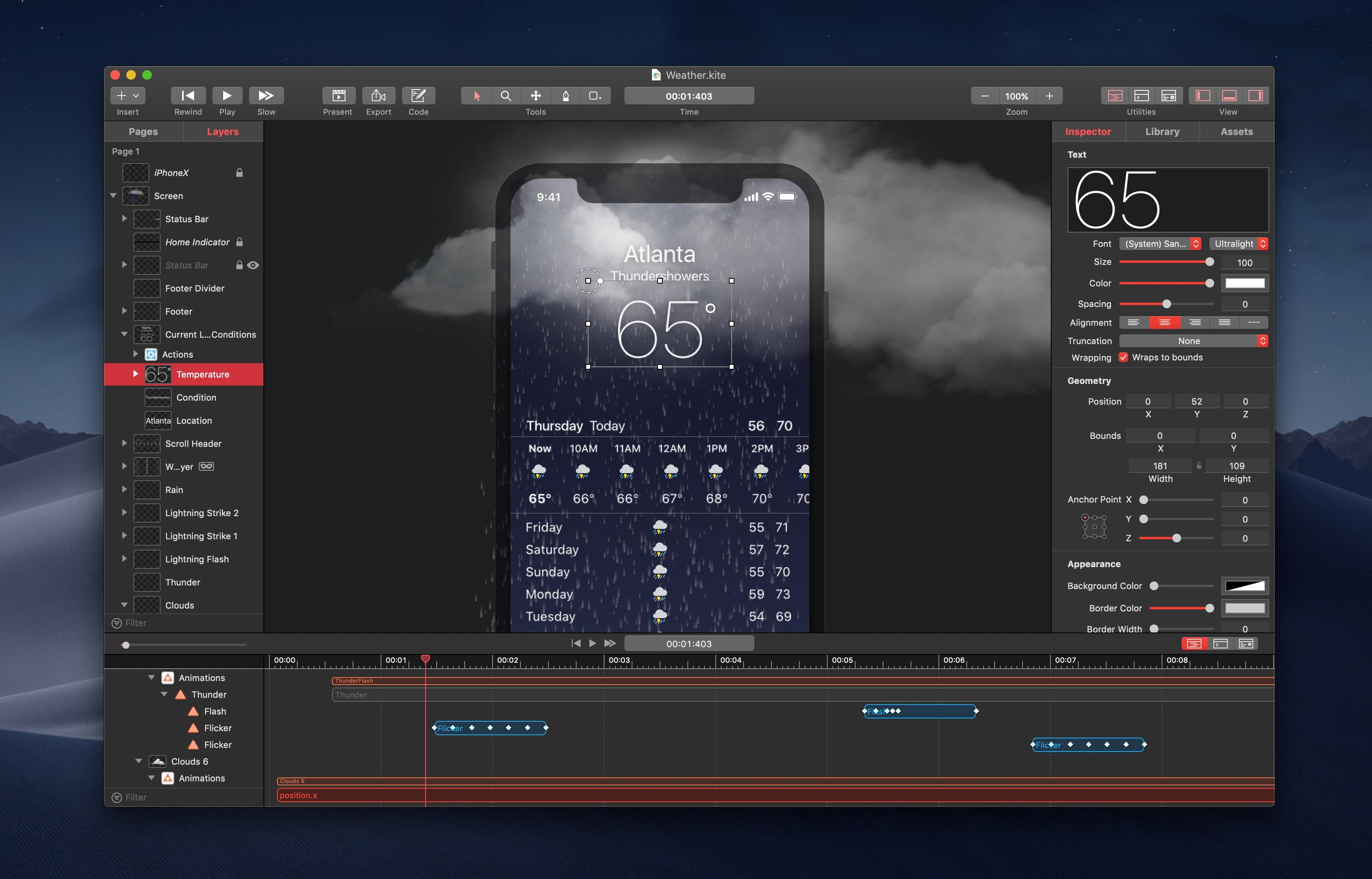 Kite Compositor  Mac强大动画和原型设计应用程序