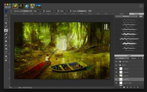 Artstudio Pro - Mac IOS艺术绘画大师