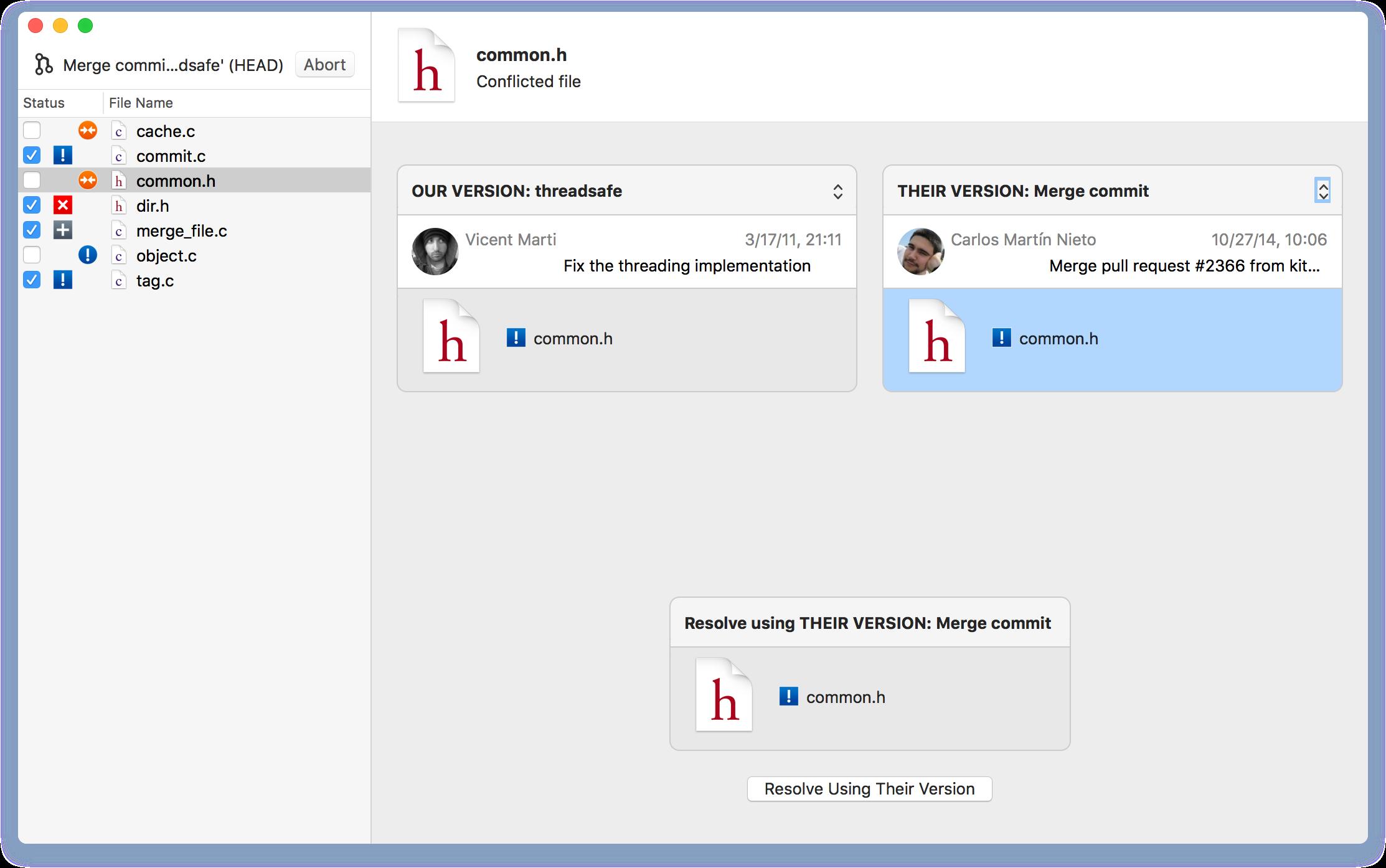 GitFinder Mac的快速轻量级Git客户端 集成Finder功能