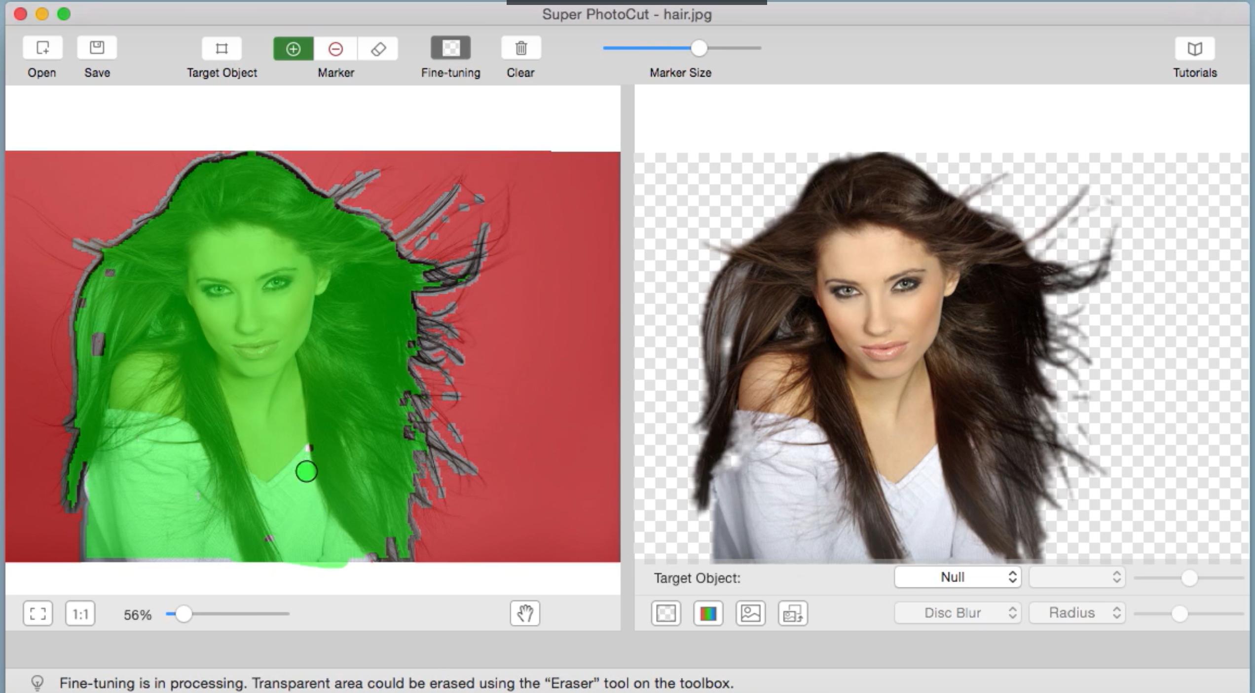 Mac超级抠图 Super PhotoCut瞬间删除图片背景,透明图完美换背景