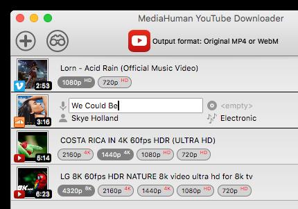 MediaHuman YouTube Downloader 视频下载软件