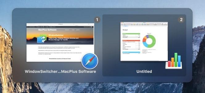 WindowSwitcher macOS的功能强大的Mac桌面窗口切换器和窗口管理器