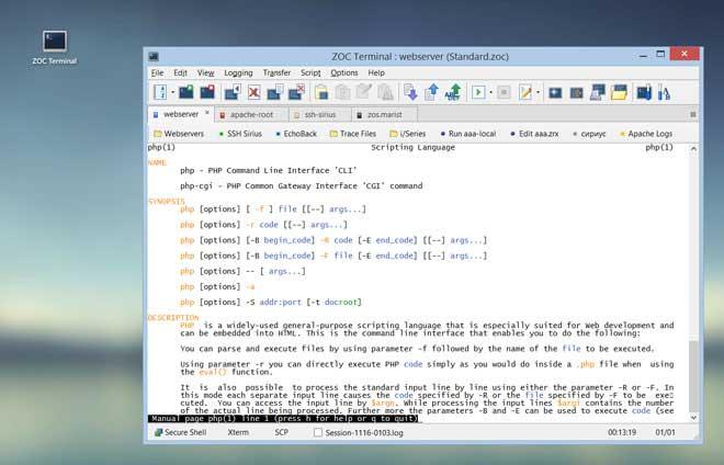 ZOC•适用于Windows和macOS的SSH客户端和终端模拟器