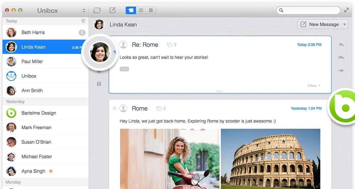 Unibox Mac 邮箱客户端